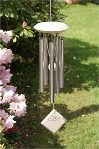 Woodstock Chimes of Mars, silber und weiss