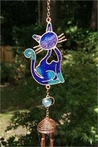 Blaue Katze Klangspiel