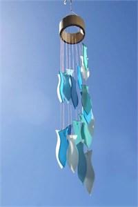 Fischspirale Glas Klangspiel