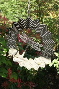 Windspinner mit Libelle (20 cm)