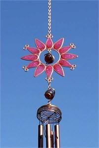 Sonnenblume Klangspiel, klein rosa
