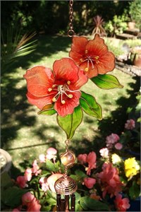 2 Blumen Klangspiele, Rosa