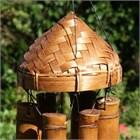 Padi-Hut Bambusklangspiel